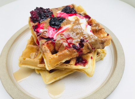 RECIPE: Super light and fluffy gluten free and dairy free waffles - that taste amazing!