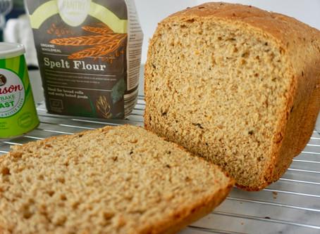 RECIPE: Sun-Dried Tomato & Black Olive  Spelt Bread