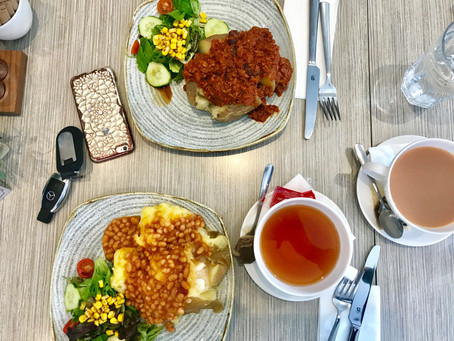 LITTLE GEMS: Making Up For Staying In Last Week! Eating out at The Village Cafe, Wolfhouse Kitchen A
