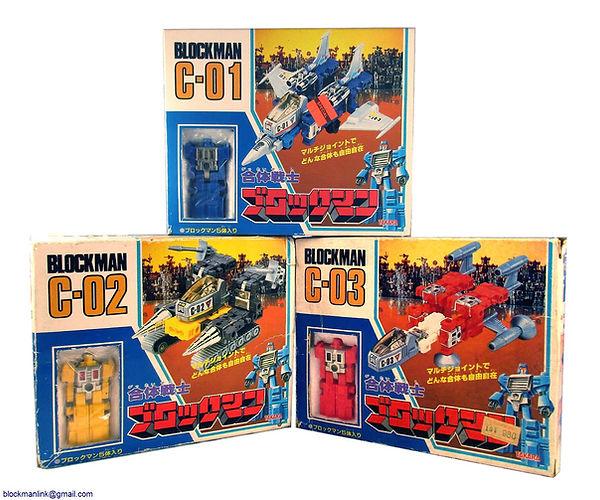 Combination Warrior Blockman Toys