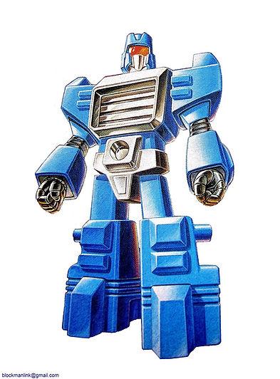 Takara Blockman Box-Art