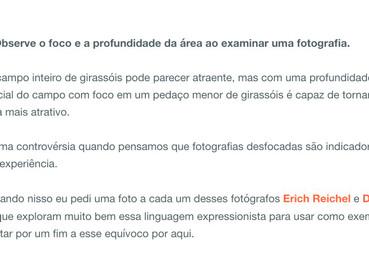 """Photo Blog """"Fotografia Na Internet"""" from Brazil"""