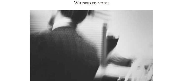 """Solo Exhibition """"Whispered Voice"""", at The Hanger Gallery, Santa Monica Art Studios"""