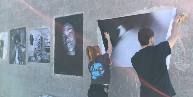 """The Big Picture"", Denver Colorado - The Temple Contemporary Artist Haven"