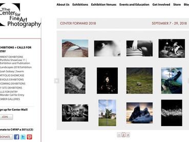"""Center Forward 2018"", at The Center for Fine Art Photography in Denver, USA"