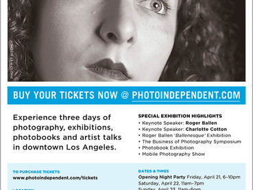 """The International Exposition of Contemporary Photography """"Photo Independent"""" in Los Angele"""