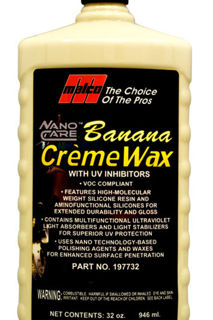 Nano Care™ Banana Creme Wax