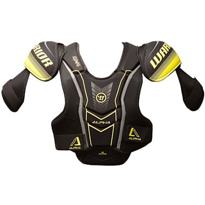 WARRIOR ALPHA QX4 JR SHOULDER PADS