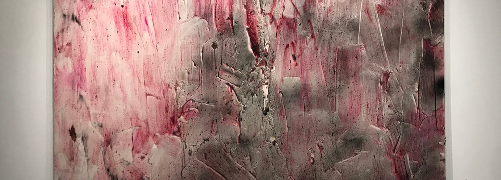 Moshe Gershuni, Untitled, 2006, oil, acrylic gel, spray paint on canvas, 180/240cm