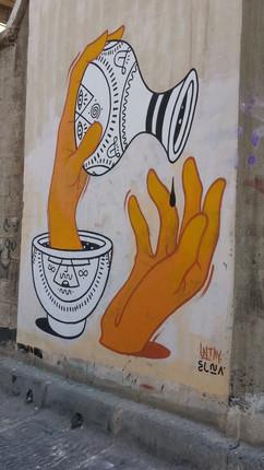 קריית המלאכה- אמנות רחוב .. untay+elna.j
