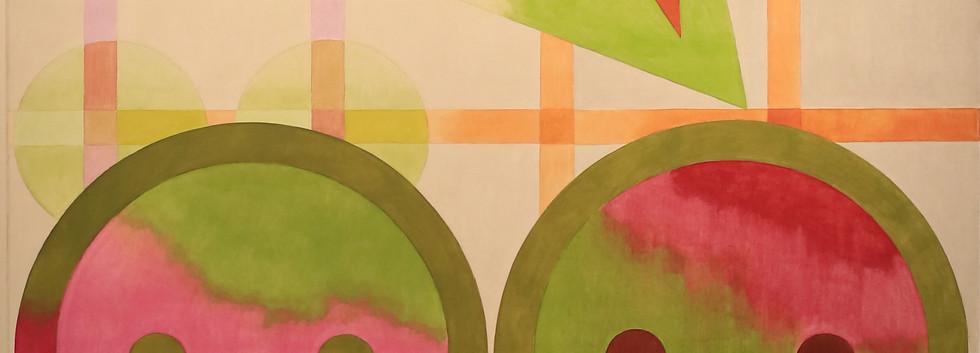 Nurit David, Untitled, 2018, oil on canvas, 120/160cm