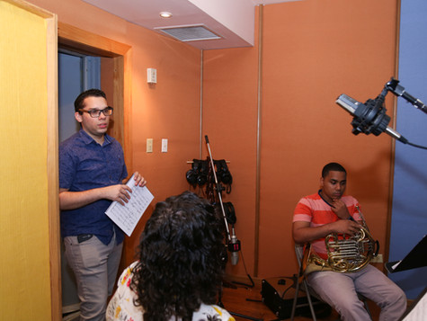 Recording of Sophia - Emmanuel Segarra, Edda Feyjo and Anthony Calderon