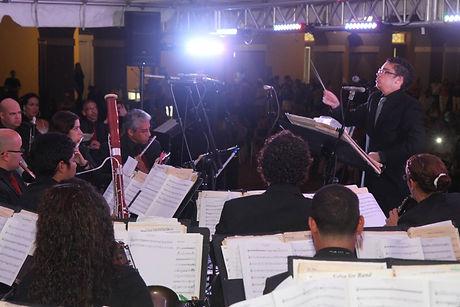 Emmanuel Segarra Conducting Puerto Rico Concert Band