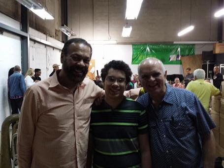 Angel Cucco Peña, Emmanuel Segarra and Quique Talavera