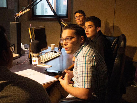 Radio WIPR promoting Young Artists Series PR concert