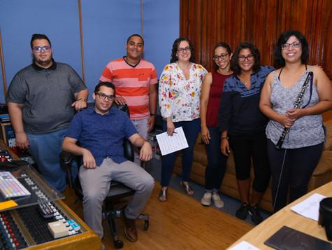 Recording of Sophia - Woodwind Quintet and Emmanuel Segarra