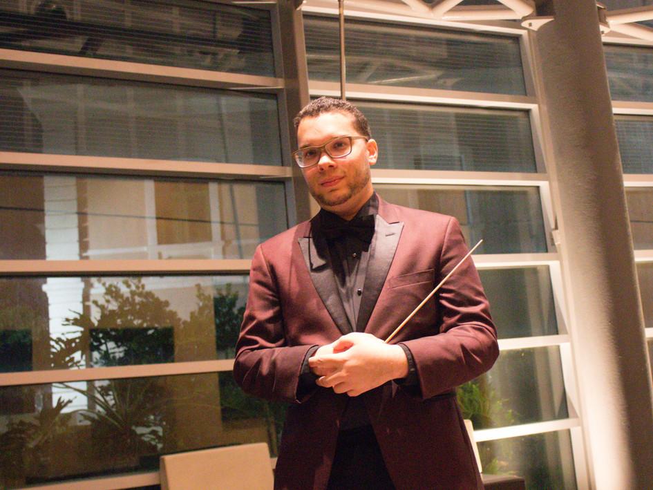 Emmanuel Segarra on Fantasy for Piano and chamber orchestra premiere