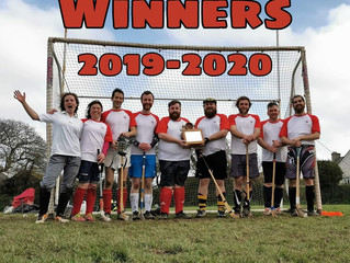 Bristol Camanachd sail down to Falmouth and return with the treasures of the ESA South West Shinty L