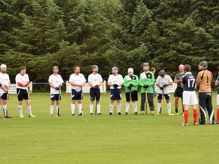 Alba Kings in their historic first Shinty International