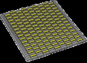 1m x1m full offset pattern