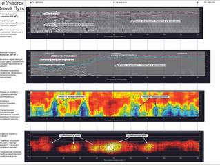 Результаты интерпретирования геофизических обследований в Астане
