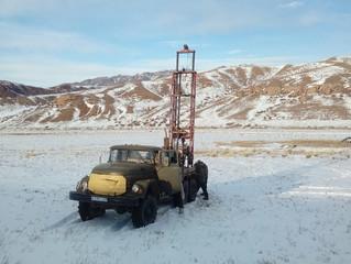 Изыскания для строительства усадьбы в Каратурыкском с.о. Алматинской области. 184 км от Алматы.