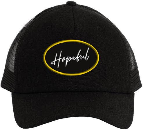 CAP - HOPEFUL -  003 - NOIR/JAUNE