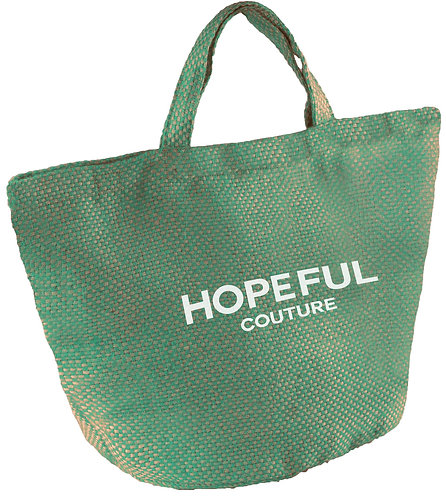 Cabas Hopeful Couture GREEN