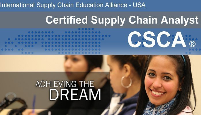 CSCA - In-Person Certified Supply Chain Analyst - ISCEA