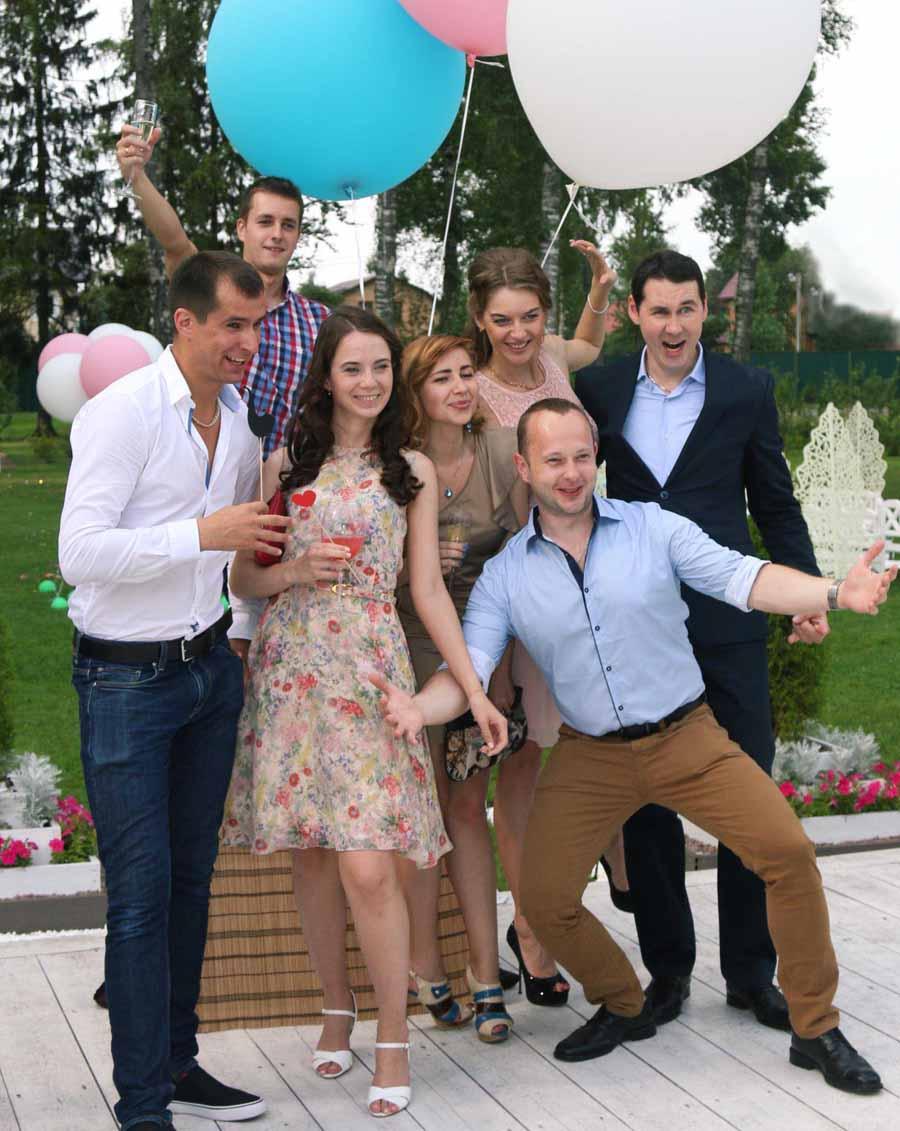 Развлечение на свадьбу для гостей