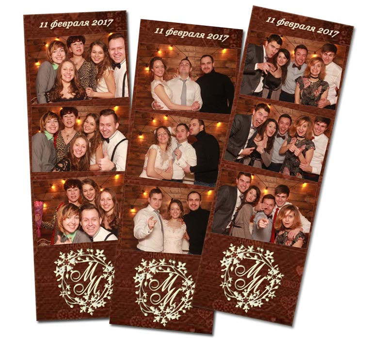 Фотобудка на свадьбу.