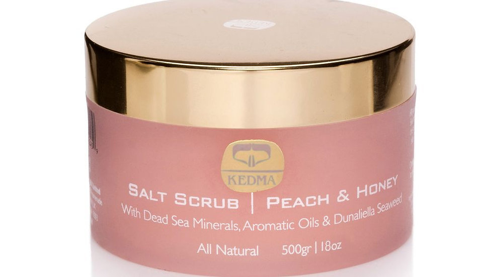 SALT SCRUB PEACH & HONEY (เกลือสครับผิว กลิ่นพีช / ฮันนี่)