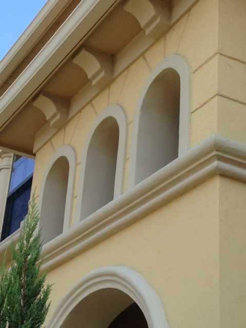 Plano Modern Stucco - Bldg Facelift