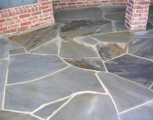 Omega Gray Flagstone Patio