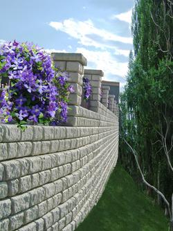 Omega Cast Stone - Boundary Fence