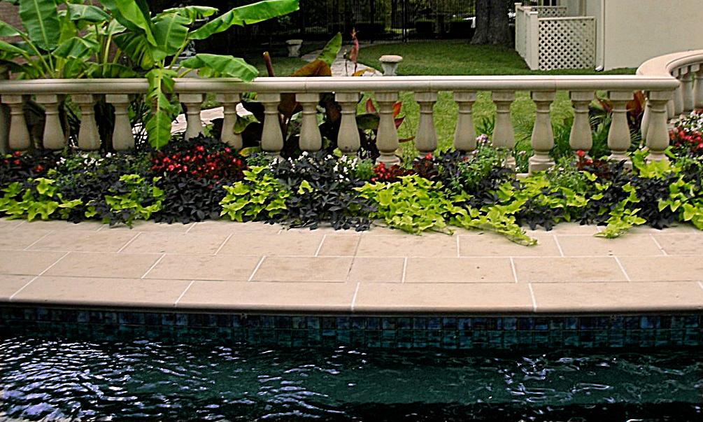 Poolside Stonework