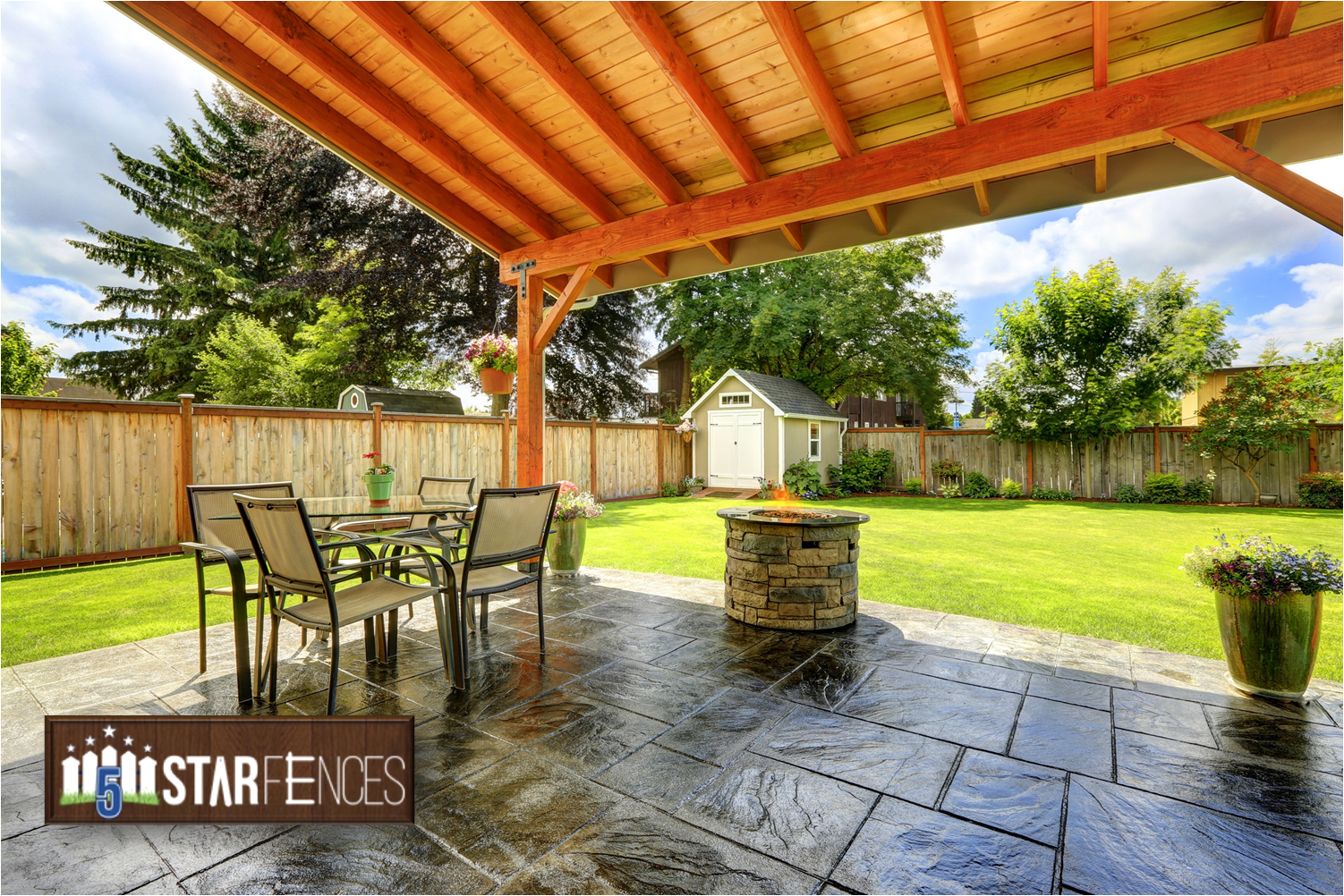 5 Star Fences Patio and Pergola