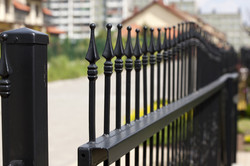 5 Star Fence Wrought Iron