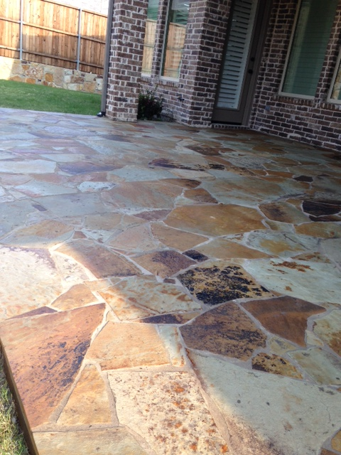 Omega Flagstone Patio