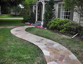 Plano Brick & Stone repair builds Beautiful Stone Walkways