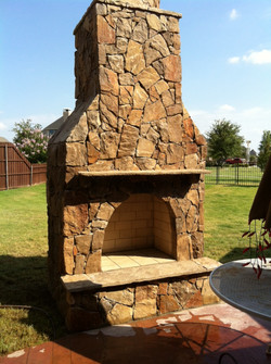 Omega Outdoor Fireplace