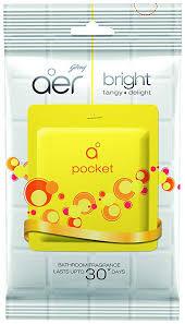 Godrej Aer Pocket Bathroom Fragrance – 10 g (Bright Tangy Delight)