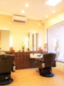 広島 ヘアサロン 理容室 バーバー 店内画像