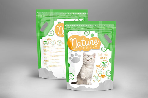 Nature 蘆薈豆腐貓砂 7L x 4包