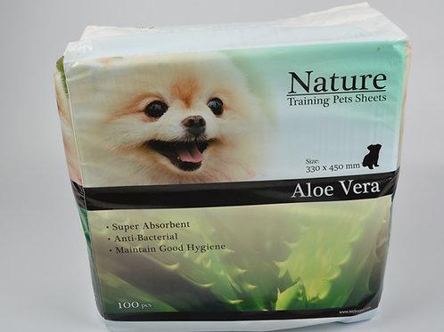Nature 蘆薈香味狗尿墊 45 x 30cm 100片 x 8包