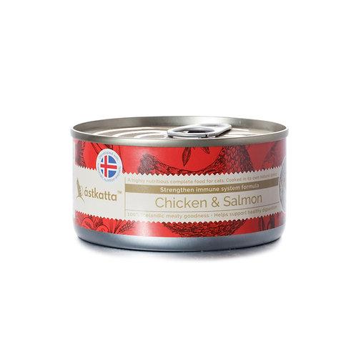 Astkatta Chicken & Salmon 走地雞藍背三文魚主食罐 170g x 48罐