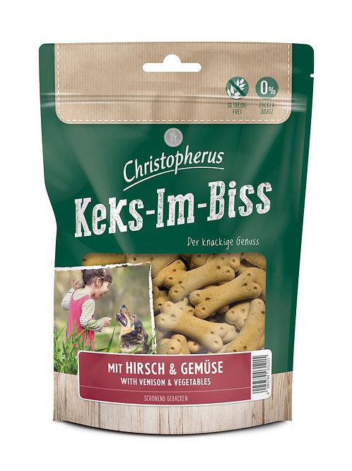 Christopherus 鹿肉蔬菜餅乾 (德國製造)