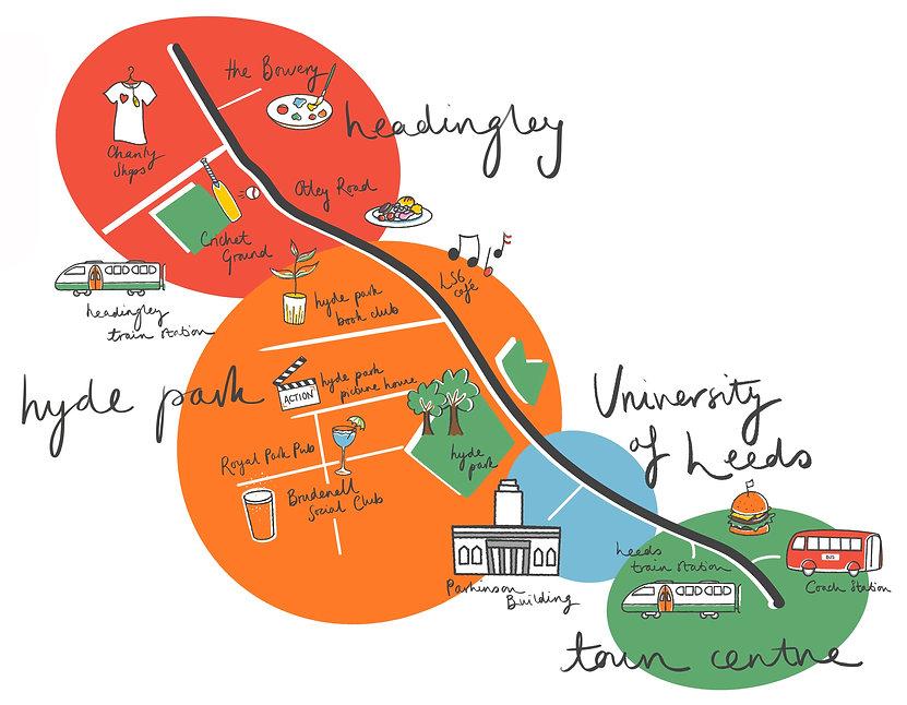 Leeds map Fledge