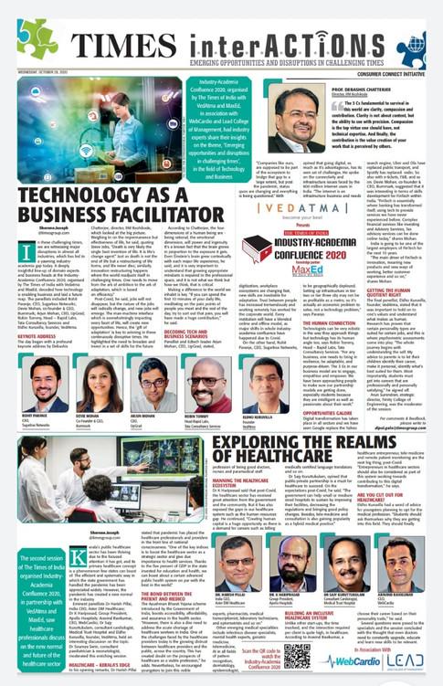 Robin - Talk Times of India