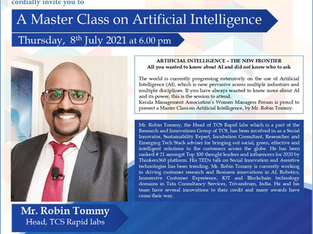 Masterclass on Artificial Intelligence - Kerala Management Association